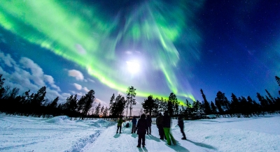 In Finnish Lapland, growth in tourism is enhanced with nature